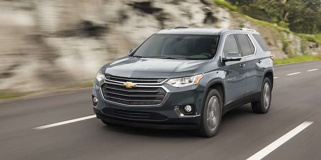 Chevrolet Traverse 2020, camioneta familiar incluye espejos calefactables con direccional integrada
